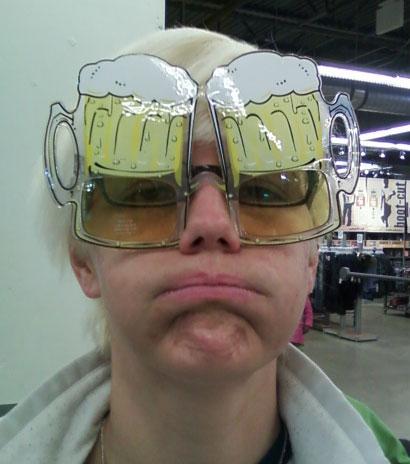 St Patrick's Day Glasses